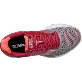 saucony Ride 10 Running Shoes Women grey/berry